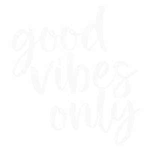 Good Vibes Only Lettering