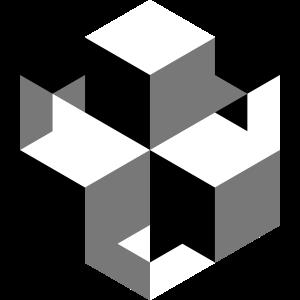Schwarz-Weiße Würfel