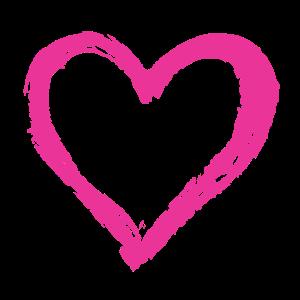 Herz Pink Geschenk Valentinstag Pinsel Geschenk