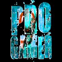 PRO GAMER grunge style