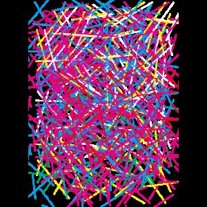 06 Muster abstrakte Striche