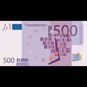 Geld / 500 Euro
