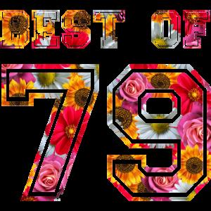 Best of 79 Geburtsjahr Jahrgang Geburtstag Runder