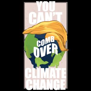Trump Klimawandel Erderwärmung TShirt