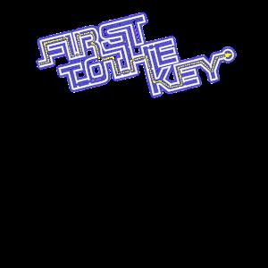First To The Key Spieler Eins Gamer Nerd Geschenk