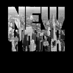 New York Manhattan Skyline 1930