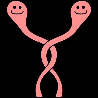 Funny Worms - Funny Worms - würmer,umschlungen,süß,raupen,paar,niedlich,lustig,loch,liebe,boden