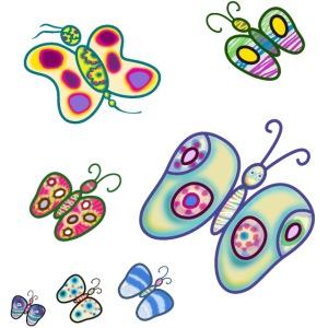 Allegria di farfalle