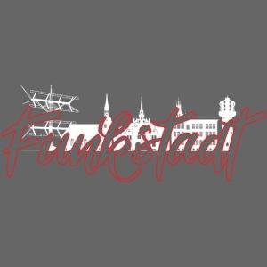 Funkstadt Nauen white / red