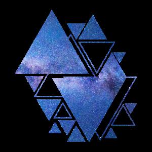 Hipster Dreiecke