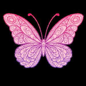 süßer Mandala Schmetterling