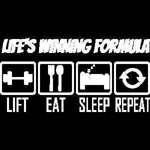 Lifes Winning Formula