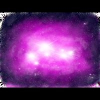 Rosa Weltraumnebel