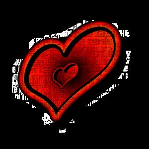 Ein Herz Love Liebe Red