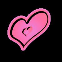 Ein Herz guthe Pink