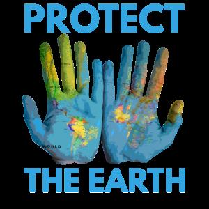 Protect The World Umweltschutz Klima Welt Geschenk
