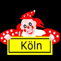 Karneval Clown Köln