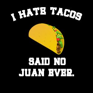 Lustiges Taco T Shirt