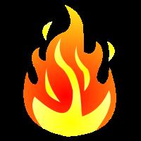 FLAMME T SHIRT