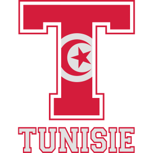 Sportlich rot Tunesien