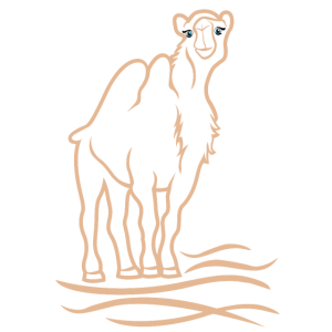 stilisiertes Kamel
