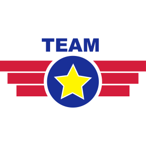 Team Emblem Banner Logo Badge 3c