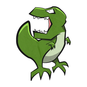 Cooler böser Trex - Roar