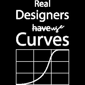 Designer verwenden Kurven