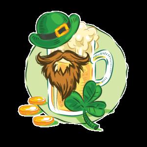 St Patricks Beer and Beard