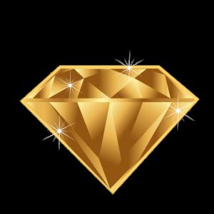 Diamant,Gold