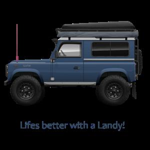 Autodesign, 4x4 Offroad, Leben besser mit einem Landy