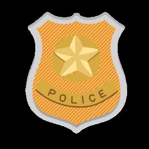 Polizisten Marke Geschenk Polizei