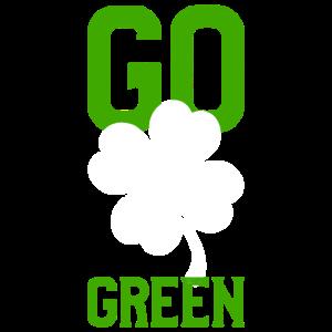 Irland glück kleeblatt spruch St Patricks day