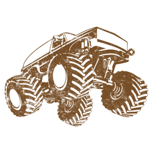 Truck monstertruck symbol
