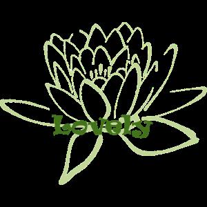 Lotusbluete Lovely