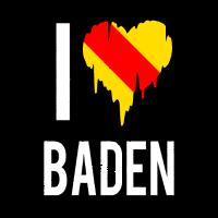 I Love Baden Wappen Herz Badisch Baden-Württemberg