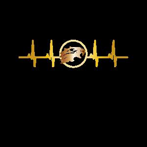 Adler EKG Herzfrequenz Steinadler Fischadler Vogel