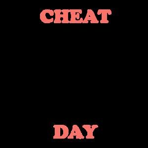 Cheat Day Print Trendfarbe 2019 Geschenk Idee