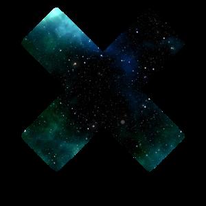 Galaxie Kreuz Universum