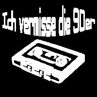 90s Neunziger Retro Kassette