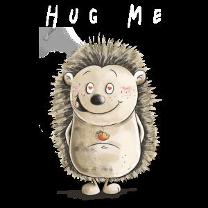 Hug ME Igel I Love I Valentinstag Geschenk I Süß