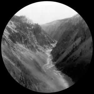 Natur - Berge - Fotografie - schwarz und weiß