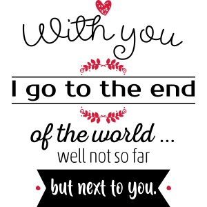 With you I go