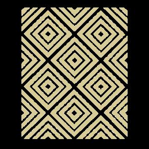 Vierecke Muster Gelb Geschenkidee Hellgelbe