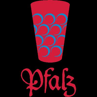 Pfalz - Dubbeglas - Wein,Südpfalz,Rheinland-Pfalz,Region,Pfalz,Kaiserslautern,Heimat,Glas,Dubbeglas,Dubbe
