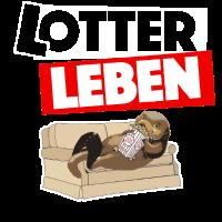 Otter im Lotterleben Geschenk