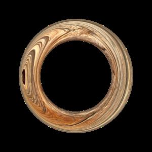 Ring gold braun