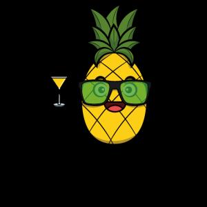 Ananas party hard cocktail weekend feiern alkohol