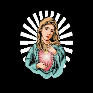 Heilige Jungfrau Maria Geschenk