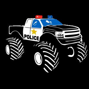 Polizei Monster Truck - Police Car Big Foot